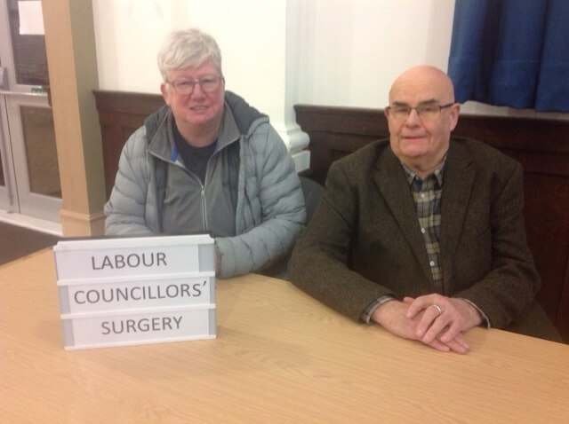 Labour councillors' surgeries