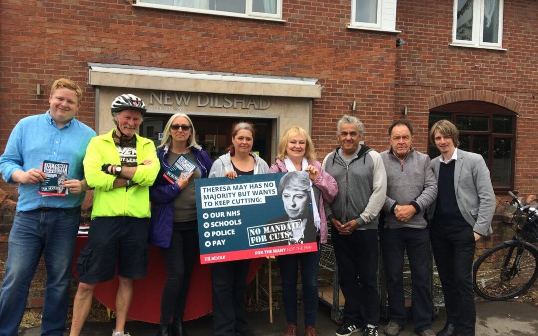 Alvechurch Members Campaign Against Education Cuts