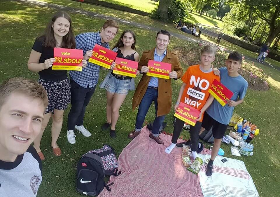 Labour Youth Movement Grows in Bromsgrove
