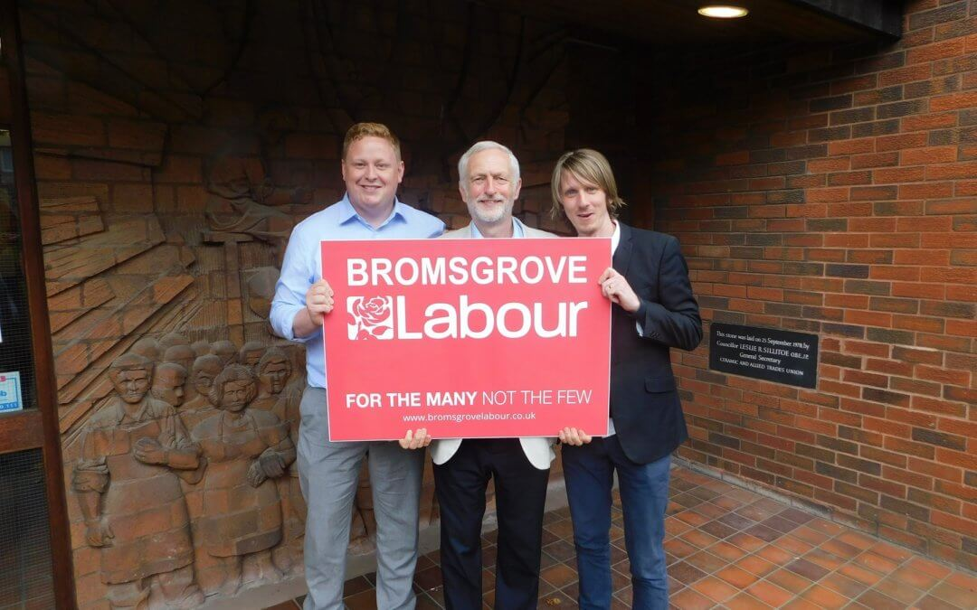 Support from Jeremy Corbyn