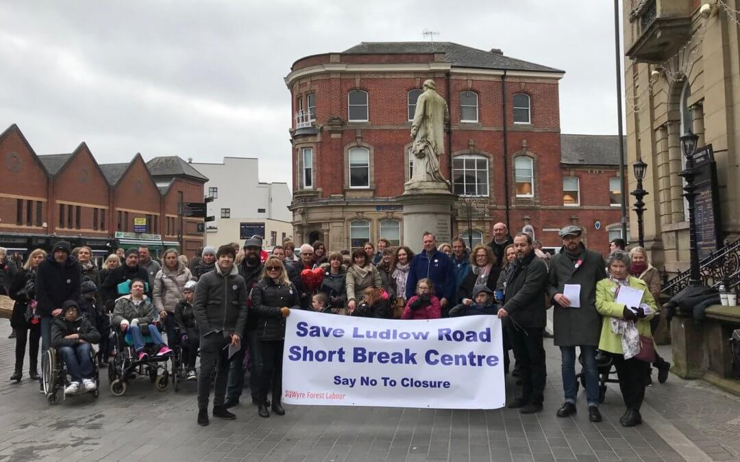 Vice-chair David Skidmore: Closure of Respite is not an option.