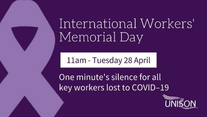 Bromsgrove Labour remembers Key workers who have lost their lives to COVID19
