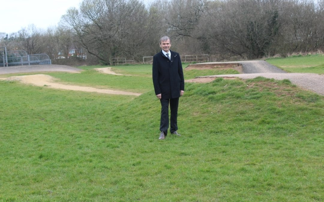 Improvements to Brook Road BMX Track
