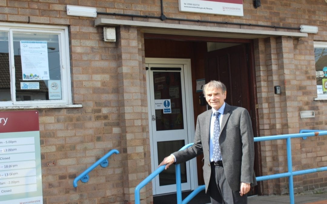 Rubery Library saved